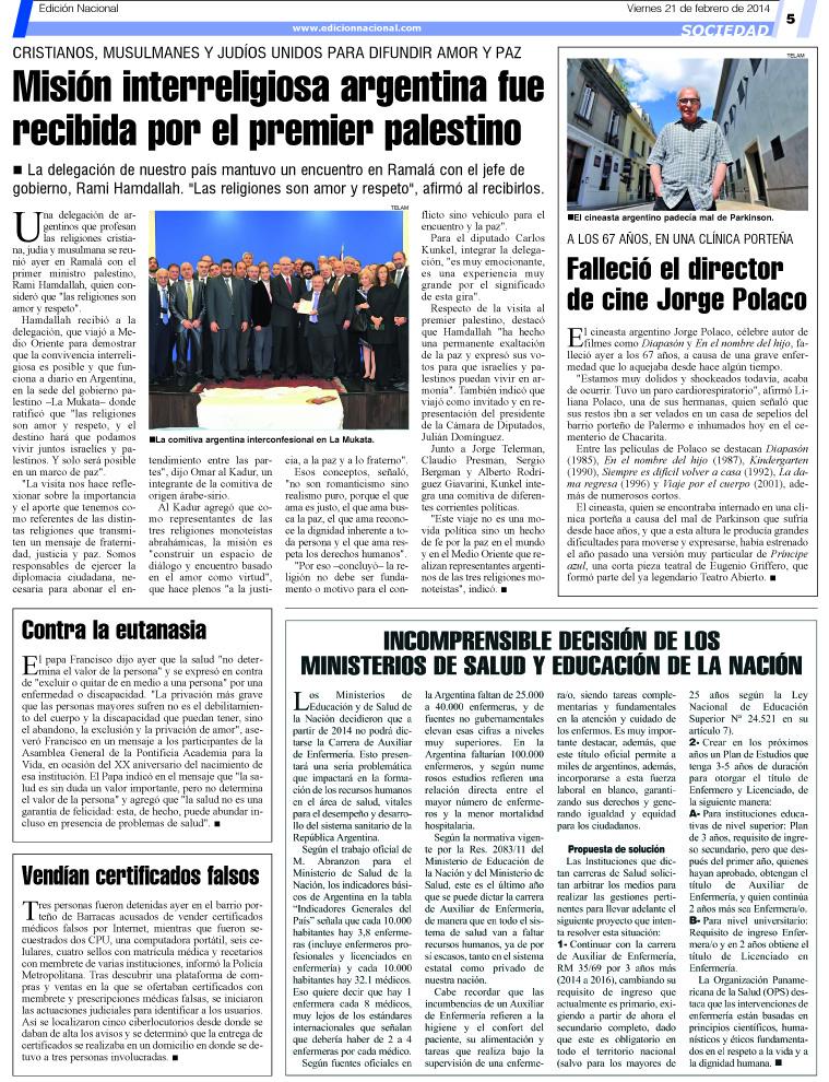 Afiches para ense ar el higiene personal para ni os for Revistas del espectaculo argentino